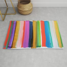 Colorful Sentiment 1008 Rainbow Rug