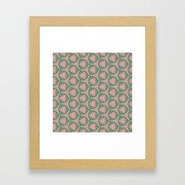 Grecian Greenery Framed Art Print