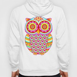 Colorful Owl Art Hoody