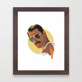 Freddie Mercury Framed Art Print
