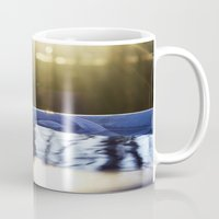 rileigh smirl Mugs featuring Reflection by Rileigh Smirl