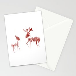Java Deer Stationery Cards
