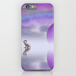 when the moon touched earth -14- iPhone Case