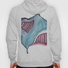 Abstract Continent Land Mass Country Hoody