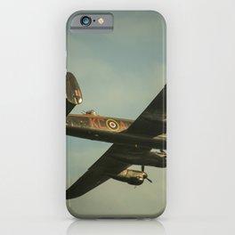 Flight of the Lancaster iPhone Case