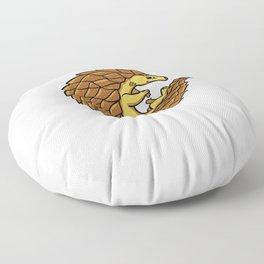 Pangolin Gift Cute Save The Endangered Species Floor Pillow