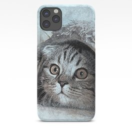 cat animal sweet cats kitten kitty iPhone Case
