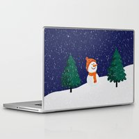 snowman Laptop & iPad Skins featuring Snowman ... by Mr and Mrs Quirynen