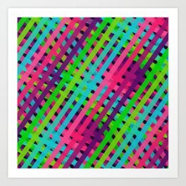 Ribbons Oh So Sweet Art Print