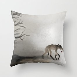 Flowers of Blood Throw Pillow