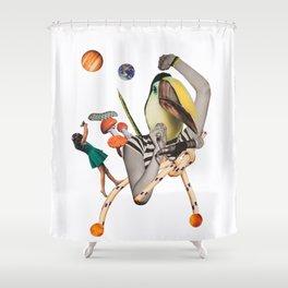 Pelican punk Shower Curtain