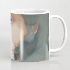 Pensees et roses tremieres Mug