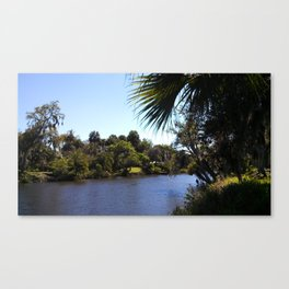 Midday Waters Canvas Print
