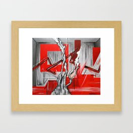 Another Dimension Framed Art Print