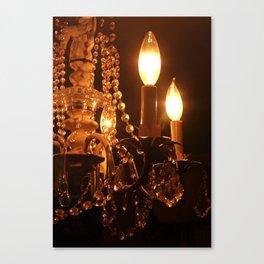 Shabby Chandelier Bling 2 Canvas Print