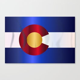 State Flag Of Colorado Canvas Print