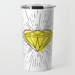 Shiny diamond Travel Mug