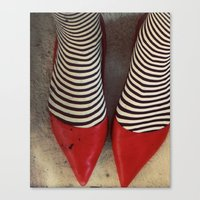 dorothy Canvas Prints featuring Dorothy by elle moss