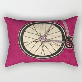Single Speed Bicycle Rectangular Pillow