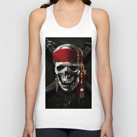 pirate Tank Tops featuring PIRATE by Acus