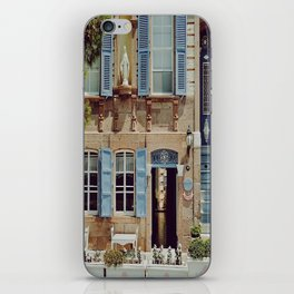 Blue Shutters in the Sun iPhone Skin