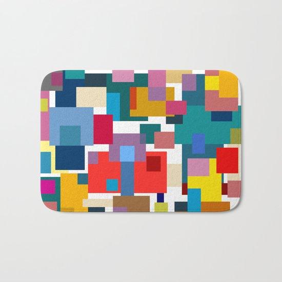 Color Blocks #6 Bath Mat