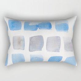 4 | 190321 Watercolour Abstract Painting Rectangular Pillow