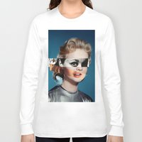 goddess Long Sleeve T-shirts featuring Goddess by Alba Blázquez