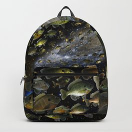 Bluegills Swim in Cosmic Pond Backpack