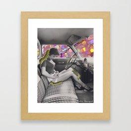 cruisin' caterpillars Framed Art Print