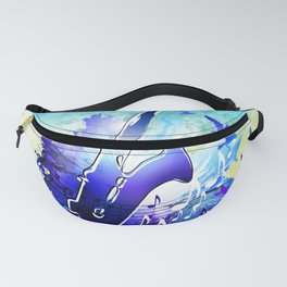 Saxophone music instruments design  Fanny Pack