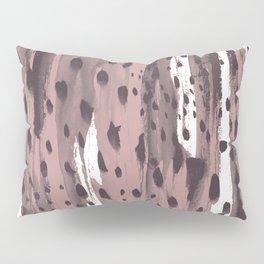 Rose and Dark Violet Pillow Sham