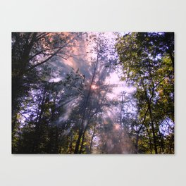 Smoke Signals Canvas Print