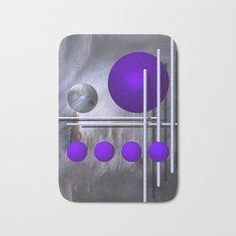 violet decoration Bath Mat