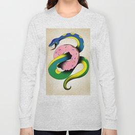 Donut Snake Long Sleeve T-shirt