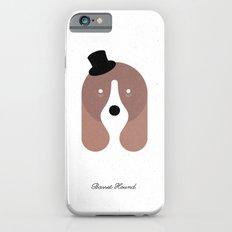 Pedigree: Basset Hound iPhone 6s Slim Case