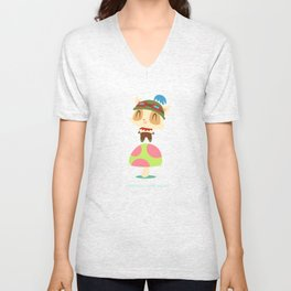 League of Legend - Teemo Jump Unisex V-Neck