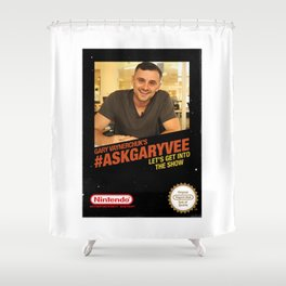 Ask Gary Vee Show - NES Shower Curtain
