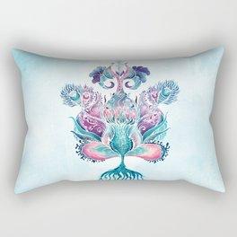 ANELIA BLUE Rectangular Pillow