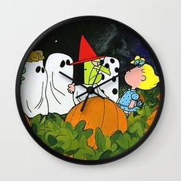 Great Pumpkin Wall Clock