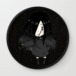 Alexia Chan in the middle of the galaxy Wall Clock