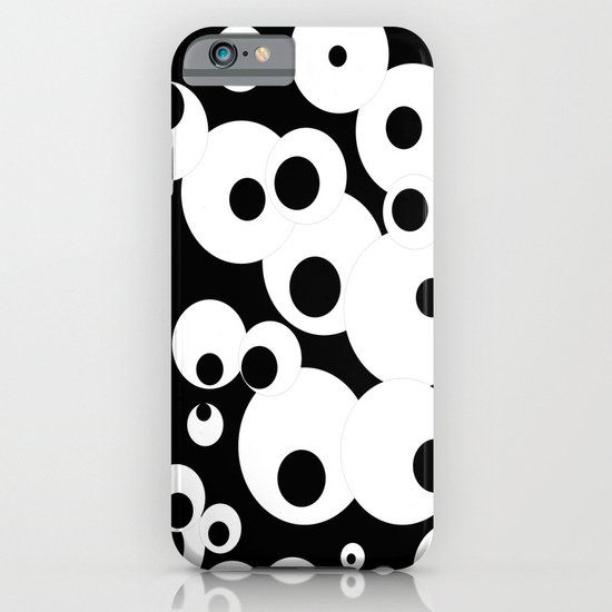 Black & White iPhone & iPod Case
