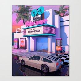 80s Cinema Canvas Print