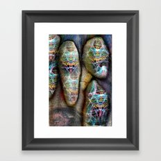 Da Stones Framed Art Print