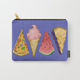 Happy Picnic Triangles Carry-All Pouch