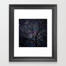 gorgeous darkness Framed Art Print