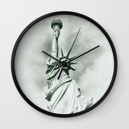 Statue of Liberty cx Wall Clock