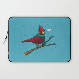 Annoyed IL Birds: The Cardinal Laptop Sleeve