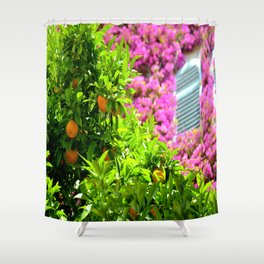 The Perfect Combo In Eze Village Shower Curtain