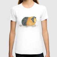 guinea pig T-shirts featuring Guinea Piggle by Elena O'Neill